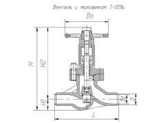 Клапан обратный Т18б1