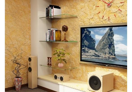 корпусная мебель для гостиной от производителя студия мебели Aldo