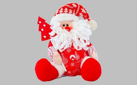 Мягкая игрушка своими руками дед мороз