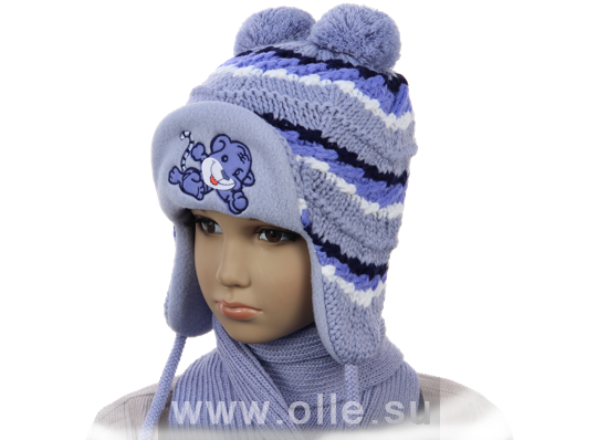 Вязаные шапки для детей от производителя Компания OLLE. Каталог 2019 ... 07ebaeb479a76