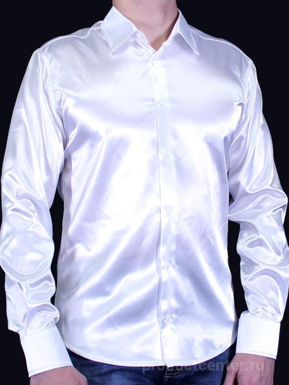 629dcb0c3336e91 Атласные мужские рубашки однотонные от производителя Компания ...