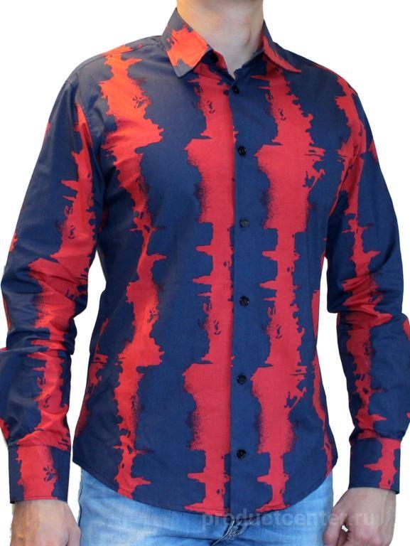 439faa2661ec6dc Мужские рубашки из хлопка с узором от производителя Компания ...