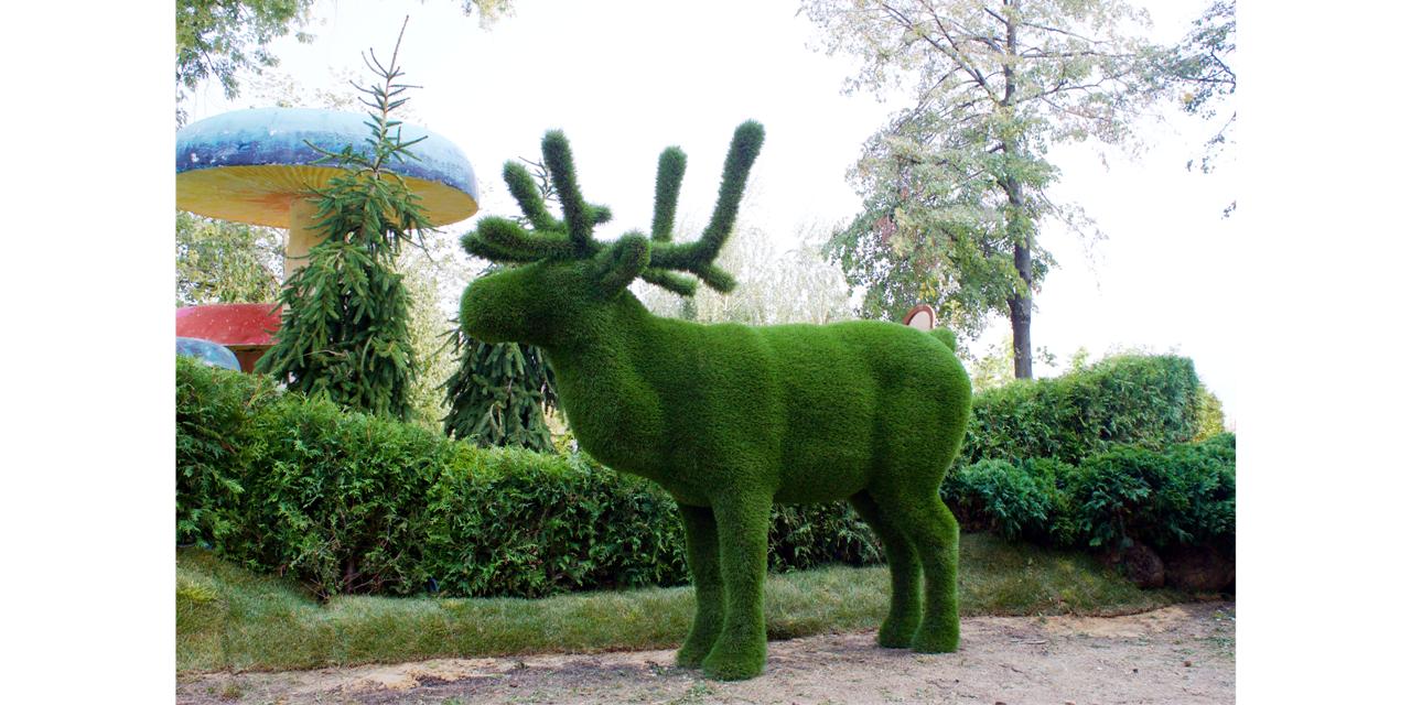 Как сделать фигуры из искусственного газона своими руками 66