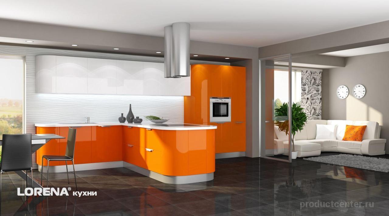 кухонная мебель в стиле модерн от производителя компания Lorena