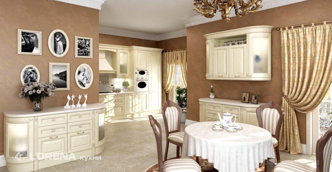 кухонные гарнитуры классика от производителя компания Lorena