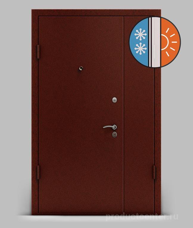 завод входные двустворчатые металлические двери