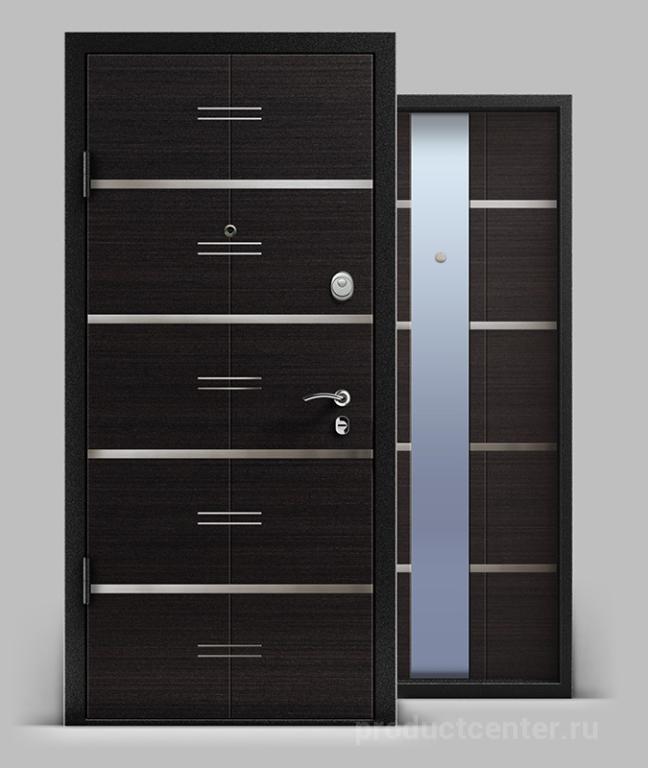 металлические двери стандартный окрас