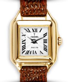 5241da38d97b Золотые часы ТМ «Гамма» от производителя Амурский ювелирный завод ...