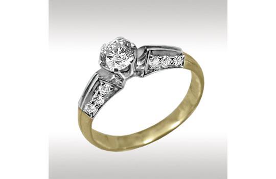 Золотые кольца с бриллиантами свыше 0,3 карата от производителя ... ba72c9b21ff