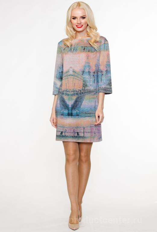1191bb04f4e Женские платья оптом от производителя «ЮНИОСТАР» в Москве