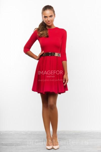 Женские трикотажные платья размерная сетка