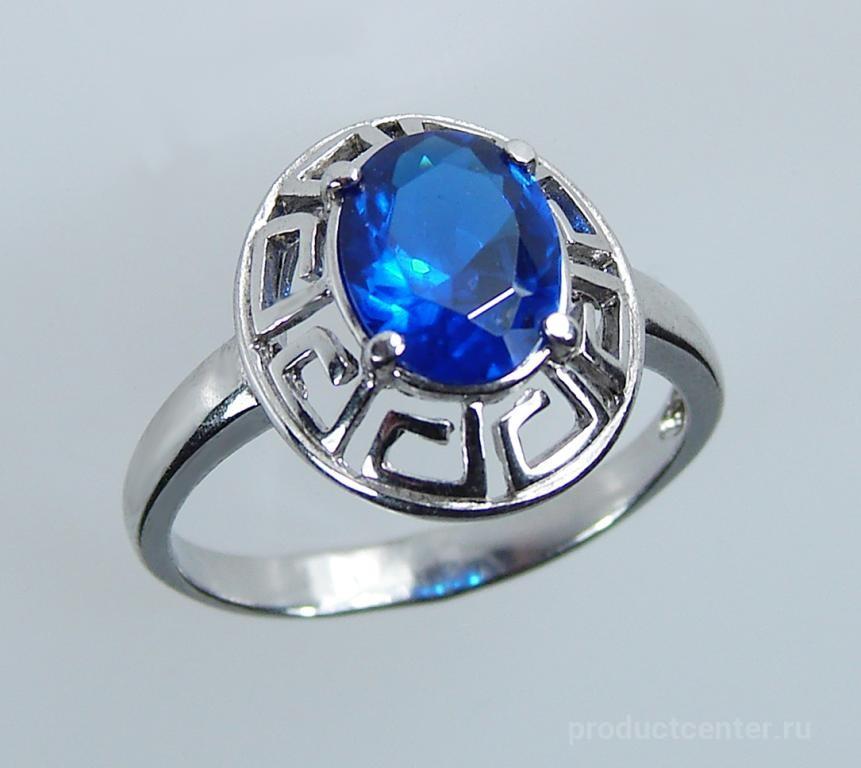2b6a207ef17b Кольца серебряные с родиевым покрытием и позолотой от производителя ...