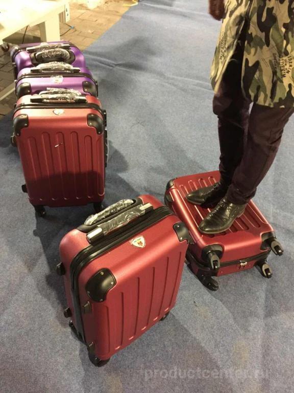 Фото 1 Дорожные пластиковые чемоданы ТМ «Hello Maggie», г.Калининград 2017 2f911cb6000