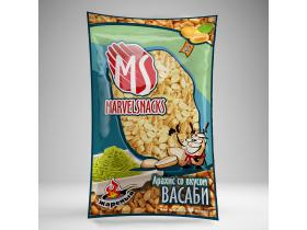 Арахис со вкусом васаби «MARVELSNACKS» 70 гр/35 шт