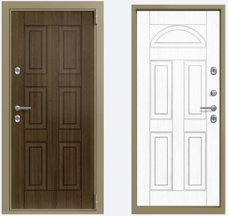 двустворчатые входные двери для коттеджа г москва