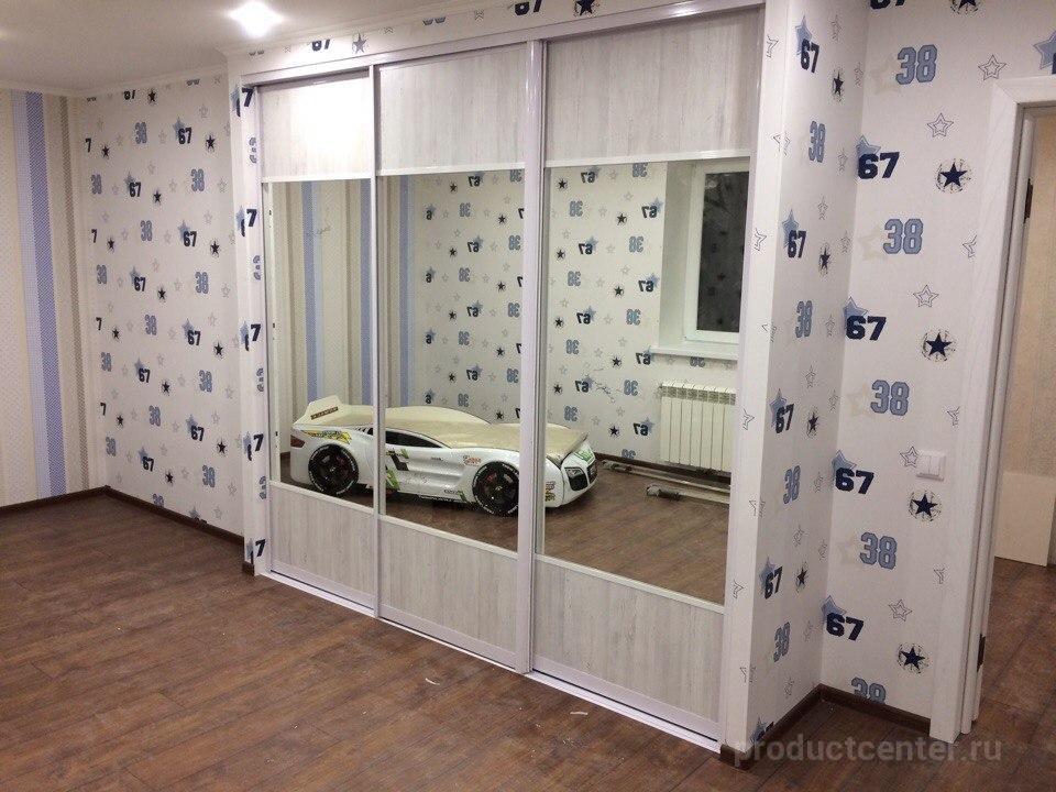 встроенный шкаф купе для спальни Modus от производителя компания