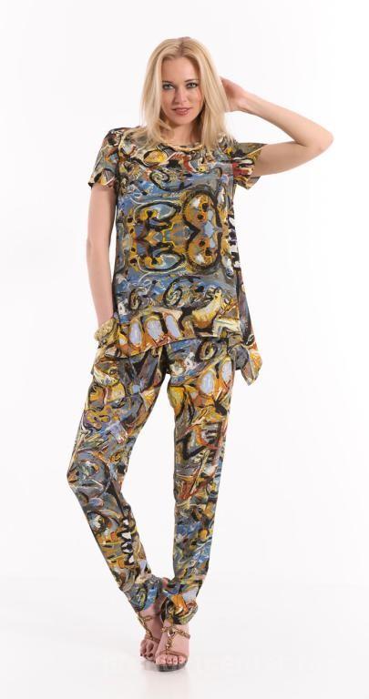79c59e83109 Легкие летние брюки женские от производителя Макс-Экспромт. Каталог ...