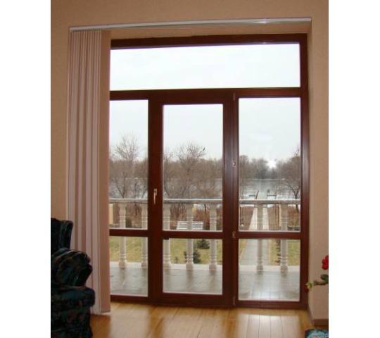 Деревянные балконные двери от производителя производитель де.