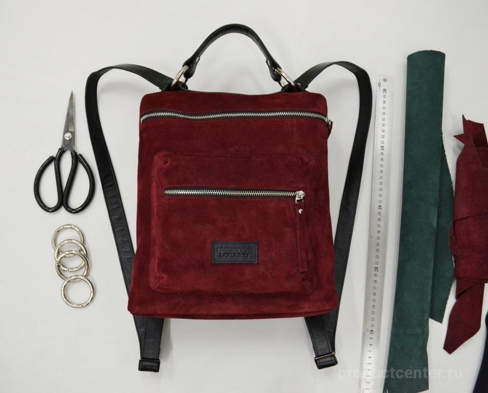 aa8659c8ba16 Рюкзак из натуральной кожи ручной работы от производителя Мастерская ...