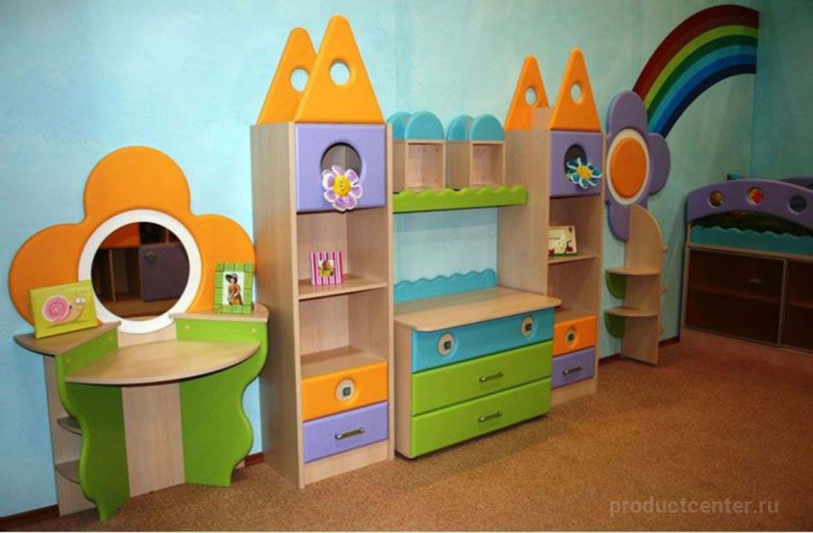 """Детская мебель """"городок"""" - меблиотека - комфортная жизнь. сп."""