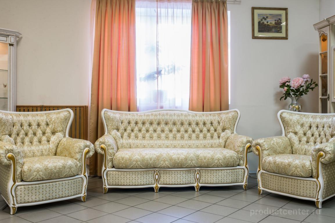 диван с креслами в гостиную флоренция от производителя компания