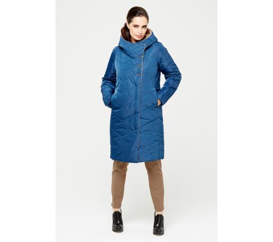 6868d627f5ec Фото 5 Прямое пальто с моно-капюшоном, фикс. на скрытый магнит.  водоотталкивающая