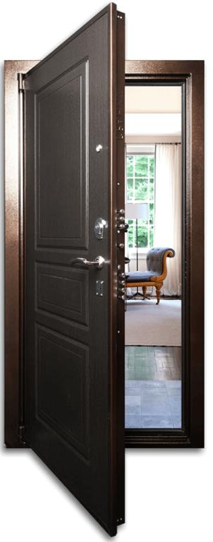 входные металлические двери в квартиру сао