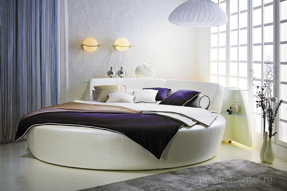 круглые кровати для спальни от производителя мебельная компания