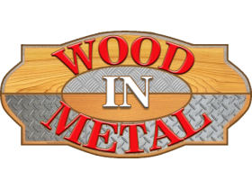 WOOD IN METAL