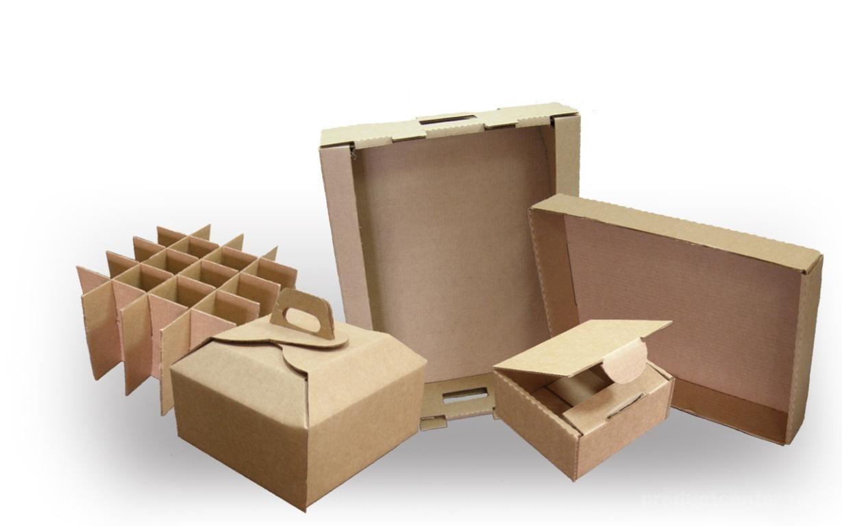 Практичные картонные коробки