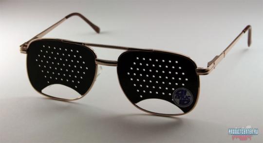 Как самому сделать очки с дырочками
