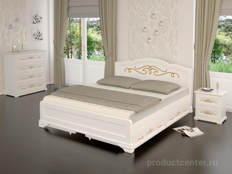 спальный гарнитур из массива дерева от производителя фабрика мебели