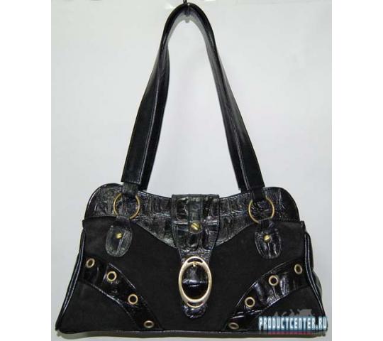 b8ec0b67e6d9 Элегантная дамская сумочка, комбинированная от производителя ...