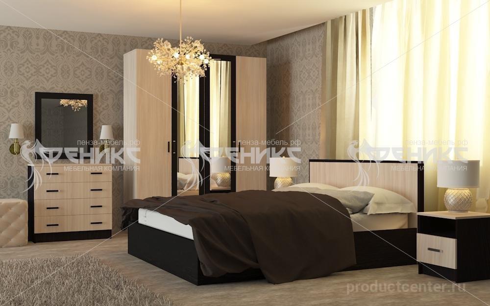спальный гарнитур фиеста от производителя мебельная компания