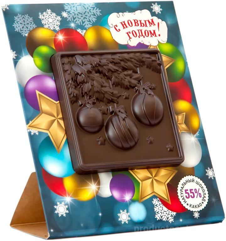 Открытка из шоколада спб