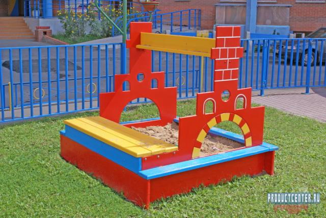 Виды детских песочниц