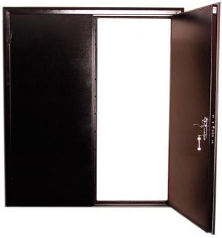 двери двустворчатые металлические прайс лист