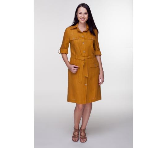 214023f308e Платье-сафари льняное 2-23 от производителя Производственная ...