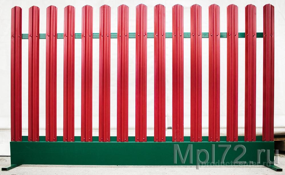 проектируют производят забор из металлического штакетника тюмень цена можно классифицировать нескольким